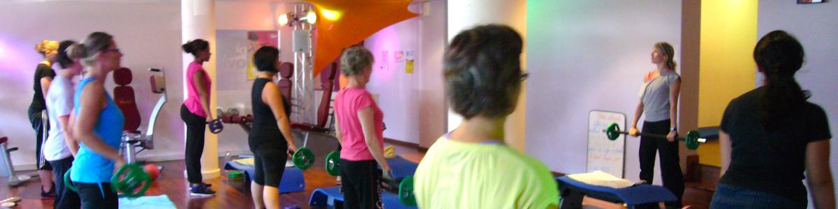 Un cours de Fitness collectif à Nantes